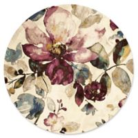 United Weavers Rhapsody Floral Garden Tufted 8' x 8' Round Area Rug in Multi