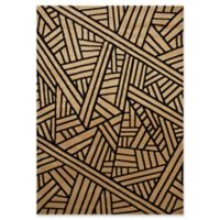 United Weavers Contours Realm Tufted 6' x 9' Accent Rug in Beige