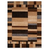 United Weavers Contours Echelon Tufted Accent Rug in Toffee