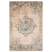 United Weavers Jules Opal 7'2 Runner Rug in Parchment