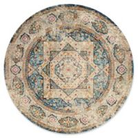 United Weavers Rhapsody Acton 7'10 Round Multicolor Area Rug