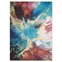 United Weavers Rhapsody Nebula 7'2 Multicolor Runner Rug