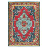 Oriental Weavers Joli Geometric 3'10 x 5'5 Area Rug in Blue