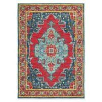 Oriental Weavers Joli Geometric 9'10 x 12'10 Area Rug in Blue