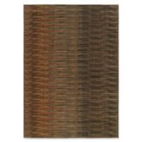 Momeni Kasbah Abstract 7'8 x 10'10 Area Rug in Brown
