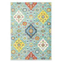 Oriental Weavers Joli Floral 3'10 x 5'5 Area Rug in Blue