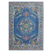 Oriental Weavers Joli Damask 3'10 x 5'5 Area Rug in Blue/Green