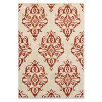 Oriental Weavers Jayden 5-Foot 3-Inch x 7-Foot 6-Inch Area Rug in Rust/Ivory