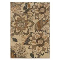 Oriental Weavers Kasbah 3-Foot 10-Inch x 5-Foot 5-Inch Area Rug in Ivory