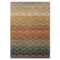 Oriental Weavers Kasbah 9'10 x 12'10 Area Rug in Brown