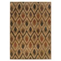 Oriental Weavers Kasbah 9'10 x 12'10 Area Rug in Gold