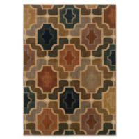 Oriental Weavers Kasbah Geometric Multicolor 6'7 x 9'6 Area Rug