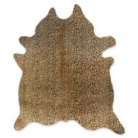 Natural Rugs Togo Cowhide 5' x 7' Area Rug in Cheetah