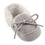 Luvable Friends® Size 0-6M Cozy Moccasin Slipper in Grey
