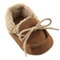 Luvable Friends® Size 12-18M Cozy Moccasin Slipper in Chestnut