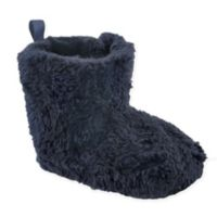 Luvable Friends® Size 12-18M Sherpa Boot in Navy