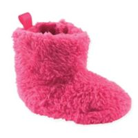 Luvable Friends® Size 12-18M Sherpa Boot in Dark Pink