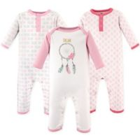 Hudson Baby® Size 12-18M 3-Pack Dream Union Suits