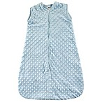 Hudson Baby® Size 0-6M Dotted Plush Sleeping Bag in Blue