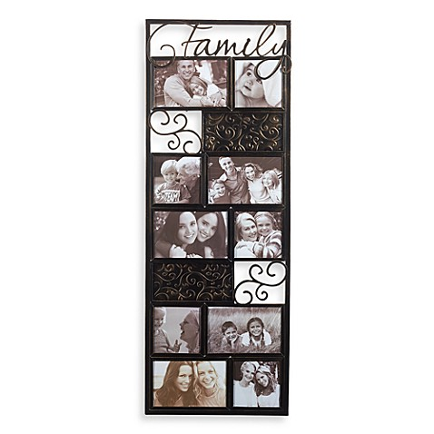 Metal Family Photo Collage Frame