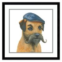 Amanti Art The Boys VII Dog 21-Inch Square Framed Wall Art