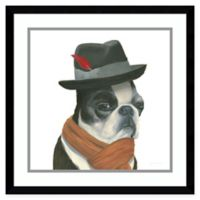 Amanti Art The Boys VIII Dog 21-Inch Square Framed Wall Art