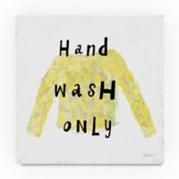 Trademark Fine Art Laundry Rules IV 35-Inch Square Canvas Wall Art