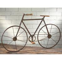 Tripar International Inc. Metal/Wood Bicycle 47-Inch x 28-Inch Wall Art