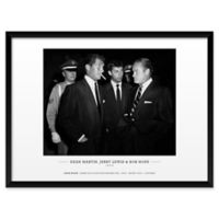 Frank Worth's Dean Martin, Jerry Lewis, and Bob Hope 25-Inch x 37-Inch Wall Art