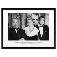 "Artography Limited Alfred Hitchcock ""Rear Window 1954"" 19-Inch x 25-Inch Framed Wall Art"