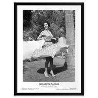 Artography Limited Elizabeth Taylor Spins 1948 19-Inch x 25-Inch Framed Wall Art
