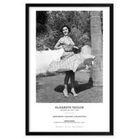 Artography Limited Elizabeth Taylor Spins 1948 25-Inch x 37-Inch Framed Wall Art