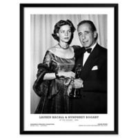 Frank Worth's Lauren Bacall & Humphrey Bogart 19-Inch x 25-Inch Wall Art