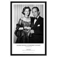 Frank Worth's Lauren Bacall & Humphrey Bogart 25-Inch x 37-Inch Wall Art