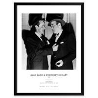 Artography Limited Alan Ladd & Humphrey Bogart 1949 19-Inch x 25-Inch Framed Wall Art