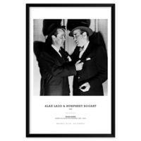 Artography Limited Alan Ladd & Humphrey Bogart 1949 25-Inch x 37-Inch Wall Art