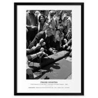 Frank Sinatra 1965 19-Inch x 25-Inch Framed Wall Art