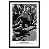 Frank Sinatra 1965 25-Inch x 37-Inch Framed Wall Art