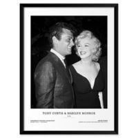 Frank Worth's Tony Curtis & Marilyn Monroe 19-Inch x 25-Inch Wall Art