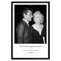 Frank Worth's Tony Curtis & Marilyn Monroe 25-Inch x 37-Inch Wall Art