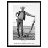 Frank Worth's JD Standing 19-Inch x 25-Inch Wall Art