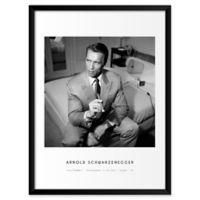 John Stoddard's Arnold Schwarzenegger 19-Inch x 25-Inch Wall Art
