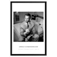John Stoddard's Arnold Schwarzenegger 25-Inch x 37-Inch Wall Art