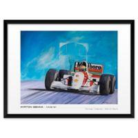 Patrick Faure's Ayrton Senna, McLaren 19-Inch x 25-Inch Wall Art