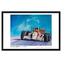 Patrick Faure's Ayrton Senna, McLaren 25-Inch x 37-Inch Wall Art