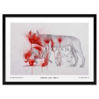 "Artography Limited Roman She Wolf 19"" x 25"" Wall Art"