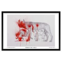 "Artography Limited Roman She Wolf 25"" x 37"" Wall Art"