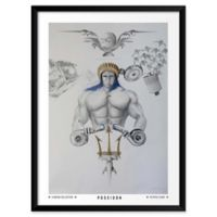 "Artography Limited Poseidon 19"" x 25"" Wall Art"