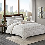 INK+IVY Fiji King Comforter Set in Marshmallow