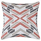 INK+IVY Imani Embroidered Square Throw Pillow in Ivory